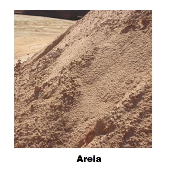 Areia (por 1/2 Metro e Metro / fina, media e grossa)