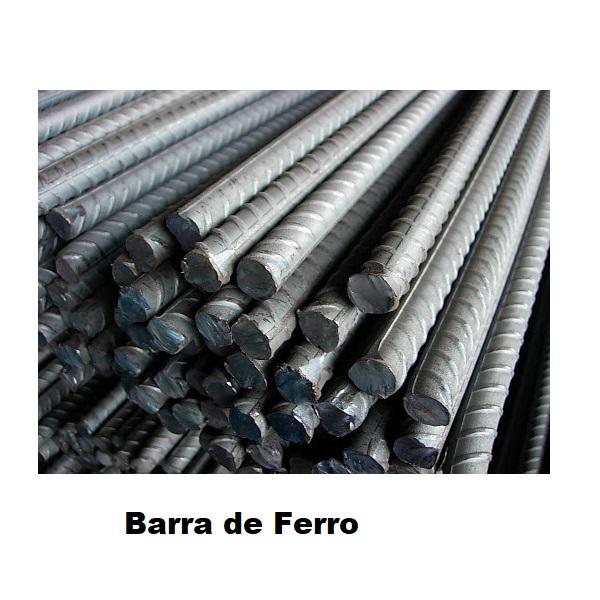 Barra de ferro - Medidas - 3/16 -, 1/4 -, 5,16 -, 3/8