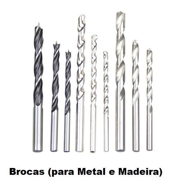 Brocas (para Metal e Madeira)