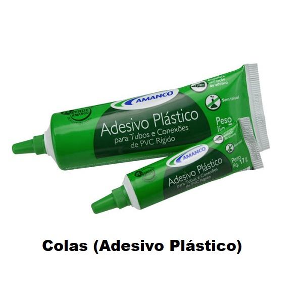 Colas (Adesivo Plásticos)