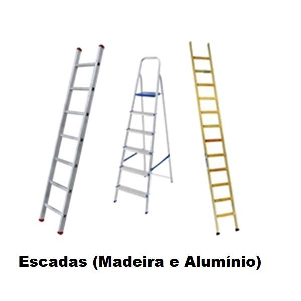 Escadas (Madeira e Alumínio)