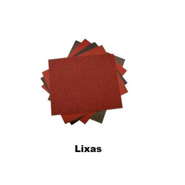Lixas para madeira, metal, em diversas marcas e modelos.
