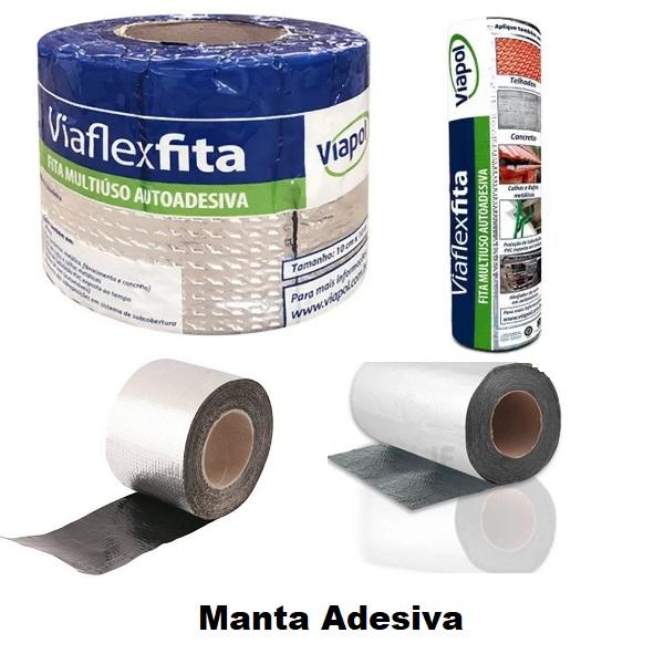 Manta Adesiva - Medidas: - 10cm, - 15cm, - 20cm, - 30cm, - 45cm