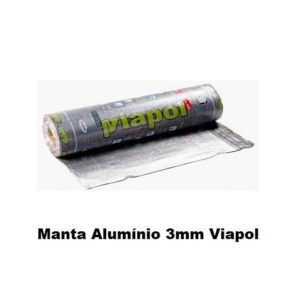 Manta Alumínio 3mm Viapol