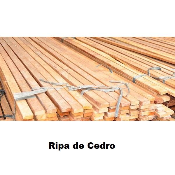 Ripas de Cedro - Medida - 5Cm