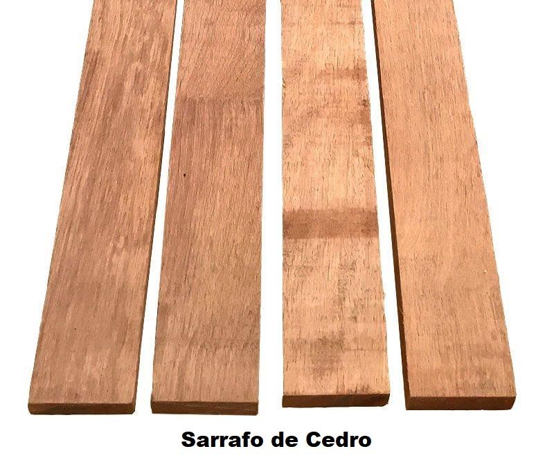 Sarrafo de Cedro - Medidas: - 5 cm - 10 cm