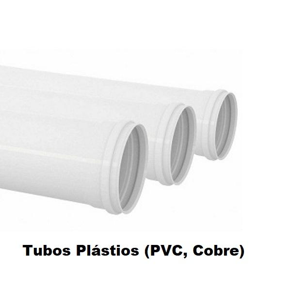Tubos Plásticos PVC e Cobre